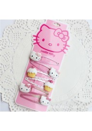 Hello Kitty Children Cupcakes 6pcs Hair Clip