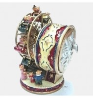 Bears Ferris Wheel Music Box-Red