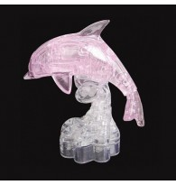 3D Dolphin Crystal Puzzle