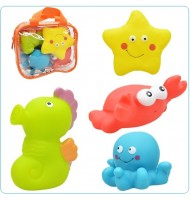 Baby Splashy Bath Playset - Sea Buddies (AB1482-2)