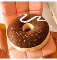 Chocolate donut Pillow Sitting Cushion