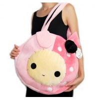 Sentimental Yoyo Bunny Round Plush Bag