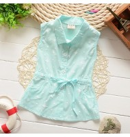 [Defect] Little Girls Sleeveless Blouse K00028