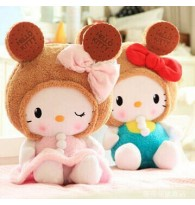 Hello Kitty Biscuit Bear Plush