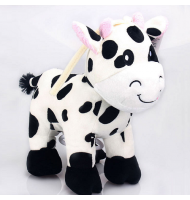 Baby Infant Musical Milk Cow Plush Toy