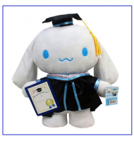 Cinnamoroll Graduation Plush Doll Stuffed Toy