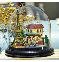 Romantic Paris Mini DIY Kit Cuteroom Cottage Dollhouse