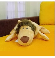 Lion Cushion Blanket