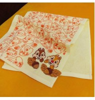 Chip & Dale Yellow Long Towel Face Towel