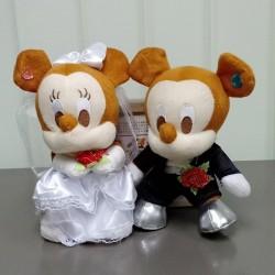 [Defect] Mickey Wedding Doll Plush AB0602