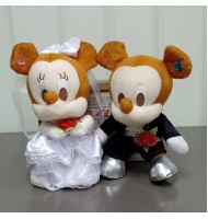 Mickey Wedding Doll Plush