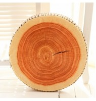 Creative Tree Ring Cushion Plush